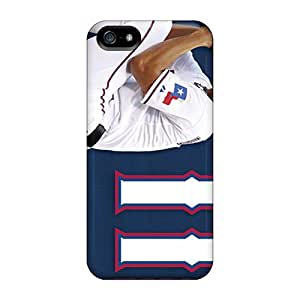 High Impact Dirt/shock Proof Case Cover For Iphone 5/5s (texas Rangers)