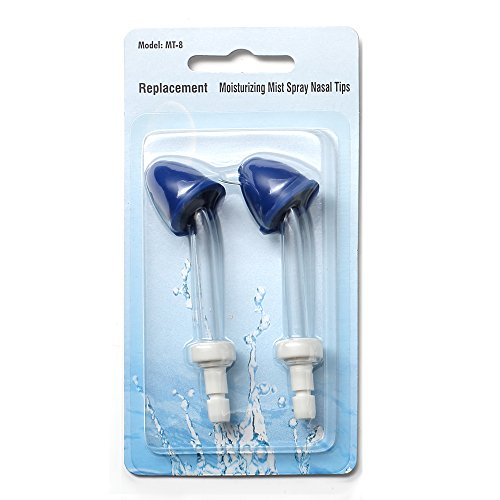 H2ofloss Moisturizing Mist Spray Tip For All Types Of H2ofloss Oral Irrigator (Package of 2)