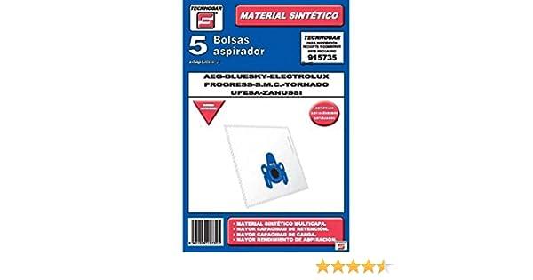 Tecnhogar 915735 Bolsa aspirador, Blanco: Amazon.es: Hogar