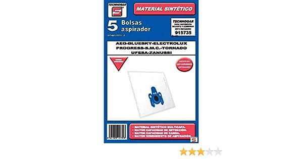 Tecnhogar 915735 Bolsa aspirador, Blanco