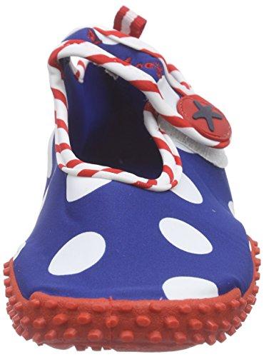 Playshoes Uv Protection Aqua Seahorses - Zapatillas Unisex Niños Azul (original 900)