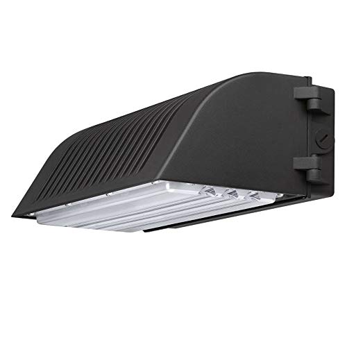 1000LED LED Wall Pack Light 70W, Premium IP65 Waterproof Full Cutoff Distribution Wall Mount Fixtures, Commercial and Industrial Outdoor Lighting, Daylight 5000K High Quanlity with 5 Years Warranty