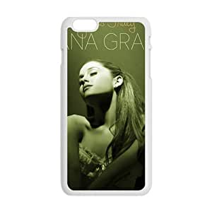 Ariana Grande Fashion Comstom Plastic case cover For Iphone 6 Plus