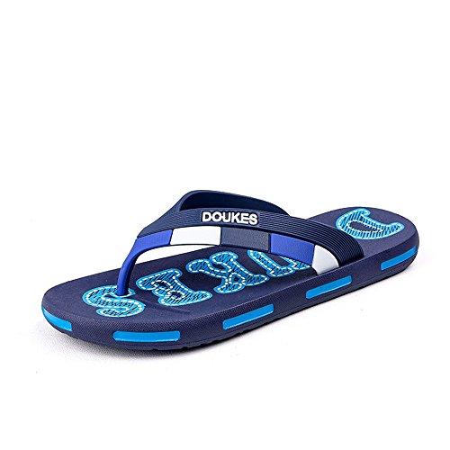 da Monogram modello modello spiaggia infradito Pantofola 2018 uomo Blu Mens shoes classico da txwqAFgY