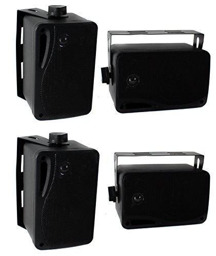 Pyle PLMR24B Weather Speakers System