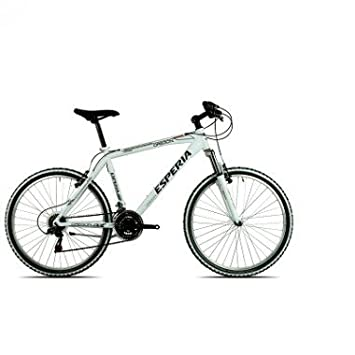 Esperia Bicycle Mtb 26 Man 8250u Oregon White One Size Amazon Co
