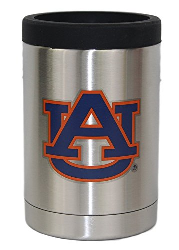 Auburn Tigers NCAA Stainless Steel Insulated 12oz Jacket with Seal ()
