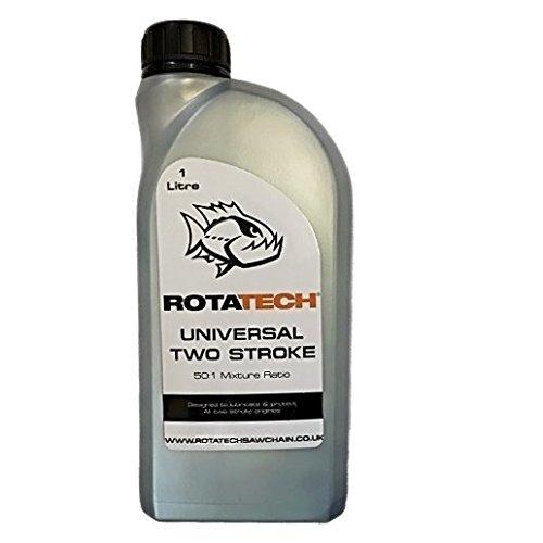 Genuine Rotatech Two Stroke Oil 1L for use with Aldi Chainsaws
