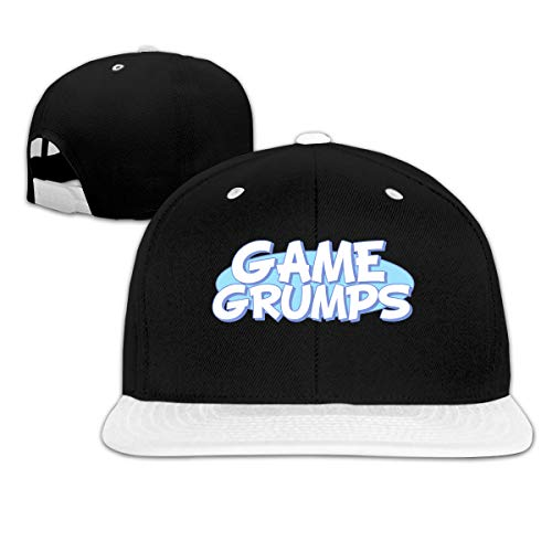 Ichenquxi Special Game G-rumps YouTube Hip-hop Baseball Cap Hat Cap Unisex White