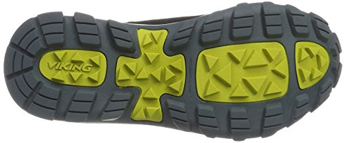 Viking Unisex Adulti Constrictor Ii Boa Gtx Scarpe Da Trekking E Da Passeggio Grigie (grigio / Lime)