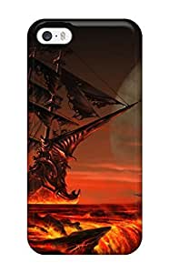 Excellent Iphone 5/5s Case Tpu Cover Back Skin Protector Meeting Doom 5769481K35133528