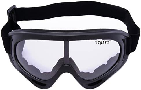 YYGIFT/® CS Goggles Windproof UV400 Motorcycle Cycling Snowmobile Ski Goggles Eyewear Sports Protective Safety Glasses