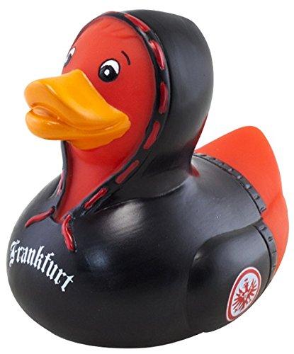Eintracht Frankfurt Fussball AG - Badeente mit Kapuzen Pulli - ca. 9 cm