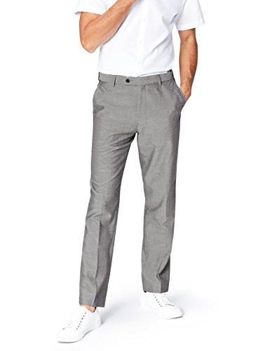 Pantaloni Uomo Fit grey Regular Find Grigio 8qwCgwY