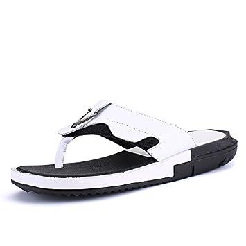 Chanclas De Verano, Coreano Zapatos, Zapatillas, Hombres Zapatos Casuales, Zapatillas Blancas, Personalidad.: Amazon.es: Deportes y aire libre
