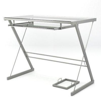 (Becker Computer Desk Finish: Silver)