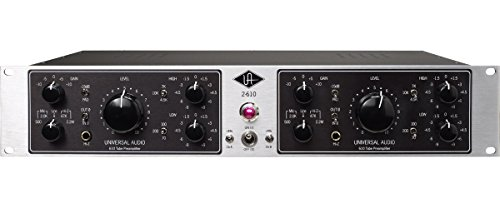 (Universal Audio 2-610 Silverface Dual Channel Mic)