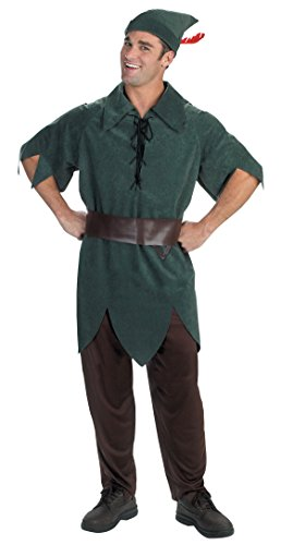 5964 (XLarge 42-46) Peter Pan Costume Classic Adult