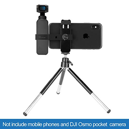 Hobby-Ace Handheld Gimbal Stabilizer for DJI Osmo Pocket with Phone Holder Mount Handheld Smartphone Gimbal for Smartphone