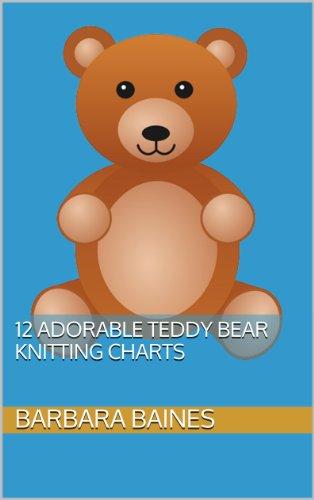 12 Adorable Teddy Bear Knitting Charts