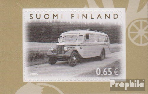 Finland 1747 (complete issue) 2005 omnibus in Finland (Stamps for collectors) Road traffic