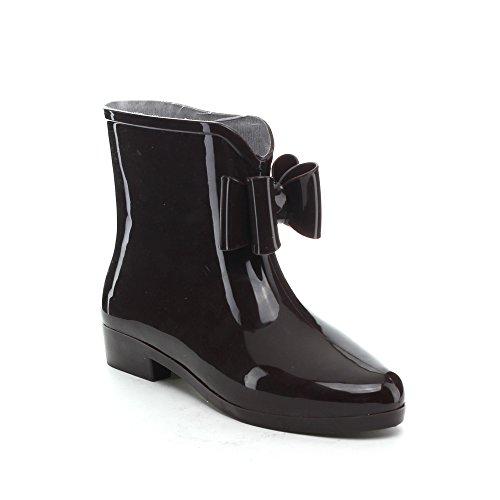 Easos Geal Stw012 Stivali Da Pioggia Alla Caviglia Con Cinturino Alla Caviglia Da Donna Alla Moda
