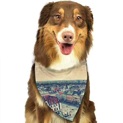 Pet Scarf Dog Bandana Bibs Triangle Head Scarfs Prague Square Accessories for Cats Baby Puppy -
