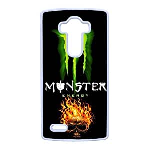 Special Design Cases LG G4 Cell Phone Case White Monster Energy Xmvhc Durable Rubber Cover