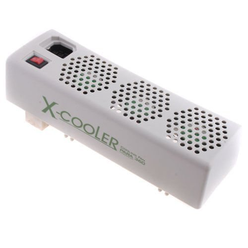 Kingzer COOLING COOLER 3 FAN SYSTEM for XBOX 360 XBOX360 White - Xbox 360 Internal Fan Cooler