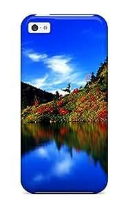 High Quality Shock Absorbing Case For Iphone 5c-k Landscape
