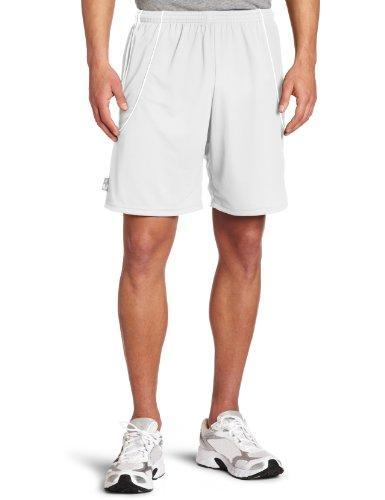 adidas Men's Squadra II Short, White/White, X-Large