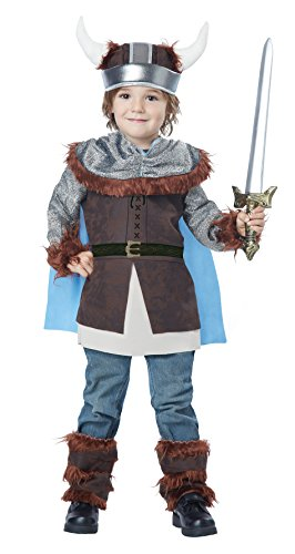 California Costumes Valiant Viking Toddler Costume, Size 3-4