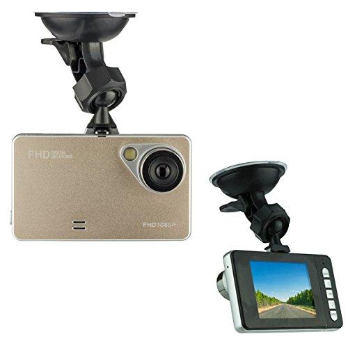 (Car Black Box Driving Video Recorder HD 1080P 170 Degree Ultra Wide Angle Lens G-Sensor Vehicle Camera)