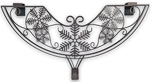 Tree Wreath Hanger (Village Lighting Snowflake Adjustable Wreath Hanger)