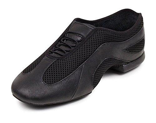 485 bloch slipstream jazz shoes size us 12.5 uk 9.5 black new adult 55XHG5r