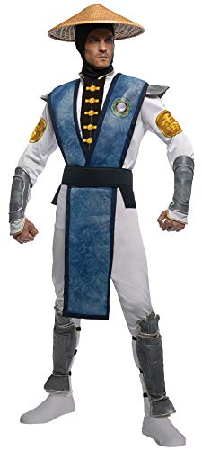 The Real Mortal Kombat Halloween (Rubie's Costume Mortal Kombat Raiden, Multicolor, X-Large)