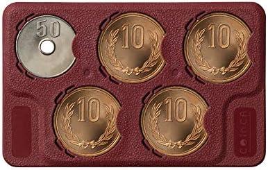 コインカ 90 コインホルダー【レッド】10円・50円用