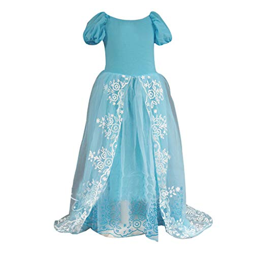 (SMALLE_Clothing Formal Dress for Girls,SMALLE◕‿◕ Girls Fancy Dress Princess Costume Cosplay Fairy Bridesmaid Dress)