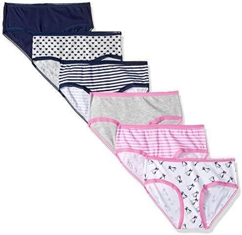 Pack 5 Ladies Cotton stretch Hi leg Briefs 14 16 2 colorways Sizes 10 12