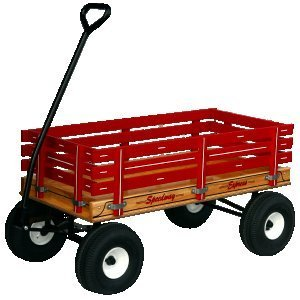 330 Heavy Duty 19'' x 40'' Work or Play Wagon 1000 # Rated by SpeedWay Express