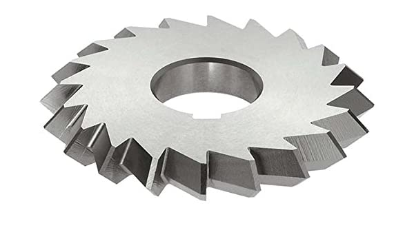 Uncoated Coating KEO Milling 05260 Straight Tooth Milling Cutter,B Style Standard Cut 26 Teeth HSS 3 Cutting Diameter 13//32 Width 1 Arbor Hole