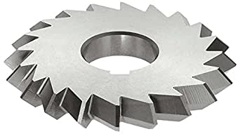 Uncoated Coating 1490 Style 0.023 Width HSS 1//2 Arbor Hole 300 Teeth KEO Milling 15130 Jewelers Saw 4 Cutting Diameter