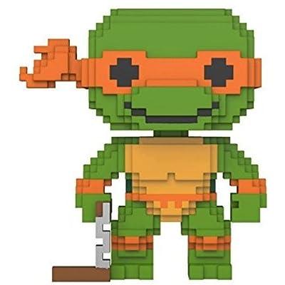 Funko 8-Bit Pop!: Teenage Mutant Ninja Turtles - Michelangelo Collectible Figure: Funko 8-Bit Pop!:: Toys & Games