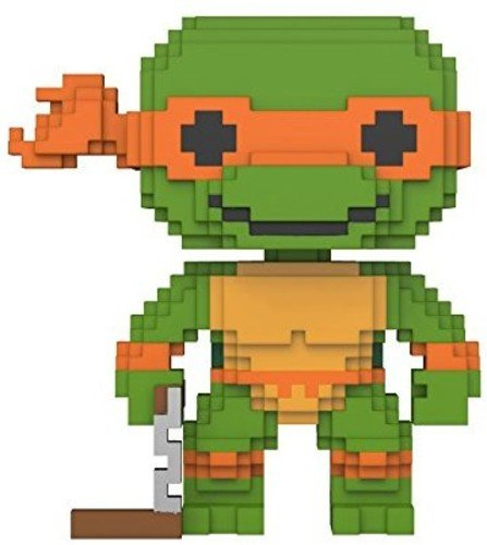 Funko 8-Bit Pop: Teenage Mutant Ninja Turtles-Michelangelo C