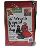 Dyno 11536-206 Wreath Bag, 36'' (Pack Of 6)