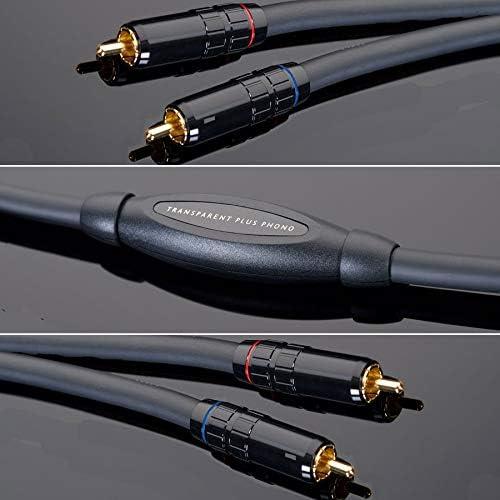 トランスペアレント フォノケーブル【RCA⇒RCA】(3.0m)TRANSPARENT《Plus Phono Cable》 PPH10(3.0M)