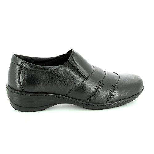 3 8 Cuir Chaussures Heavenly Plates Feet Uk Tailles Colby Noir Femmes zgxwOqnvUA