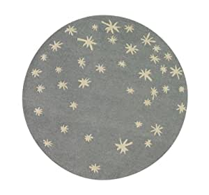 DwellStudio Galaxy Round Rug, Dusk (Discontinued by Manufacturer)