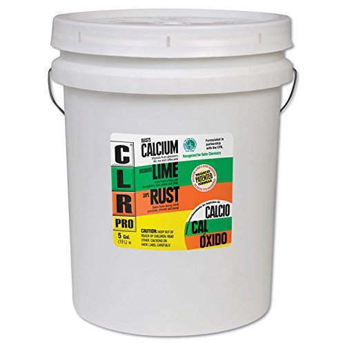 CLR Pro CL-5Pro Calcium, Lime and Rust Remover, 5 Gallon Pail by CLR