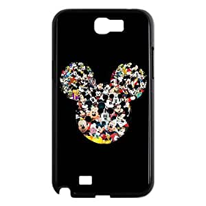 Samsung Galaxy N2 7100 Cell Phone Case Black Mickey Mouse Ixcd